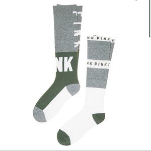 New Victoria's Secret PINK Knee Socks